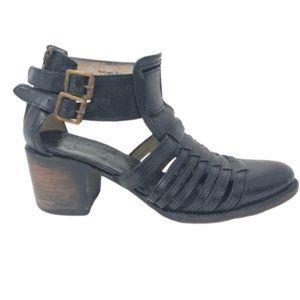 FREEBIRD | Blake Leather Booties Sandals